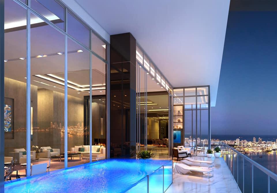Dự án căn hộ Define có hồ bơi riêng biệt