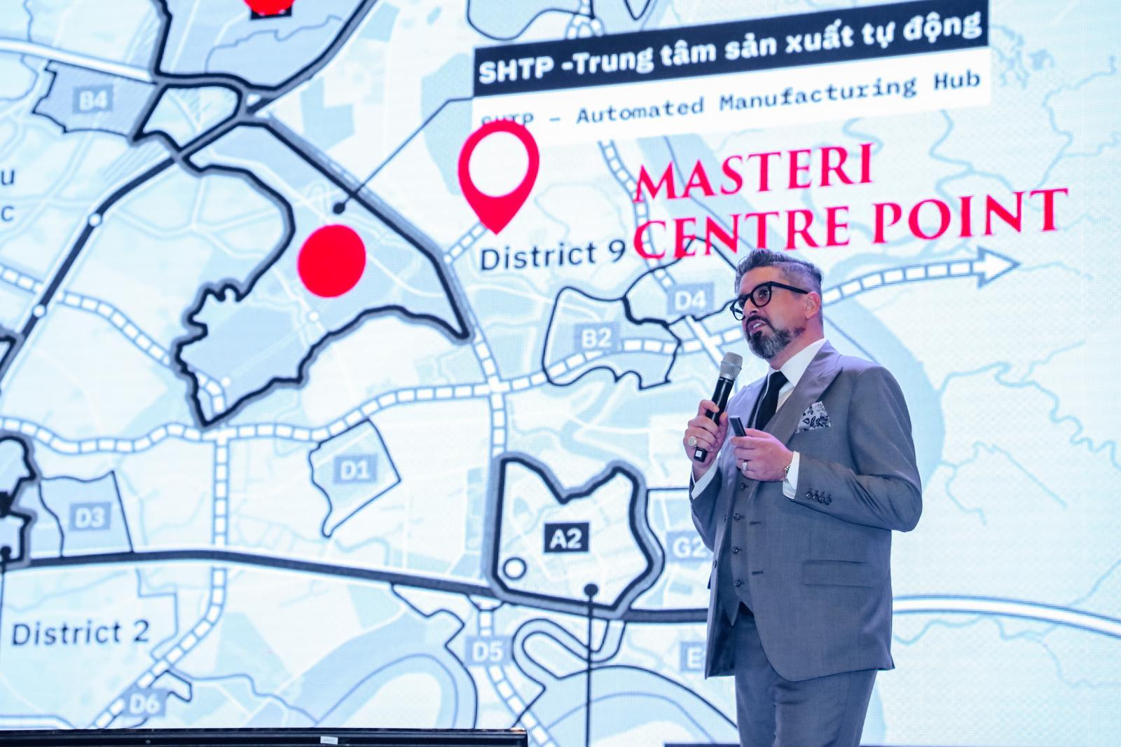 Ông Gibran Bukhari - Giám đốc khối Kinh doanh Masterise Homes chia sẻ nhận định về thị trường bất động sản Việt Nam hiện nay, đặc biệt là khu vực quận 9