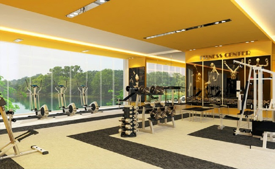 gym luxury home